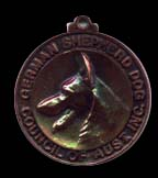 German Shepherd Dog Council of Australia's Bronze Medal